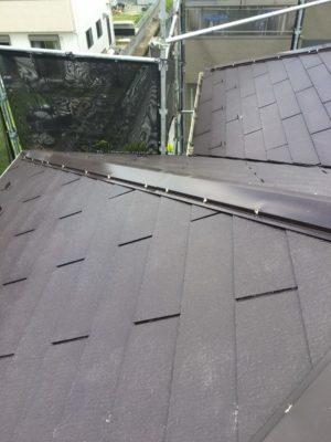 幸手市屋根塗装釘頭シール2