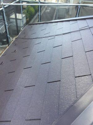 幸手市屋根外壁塗装 屋根完了