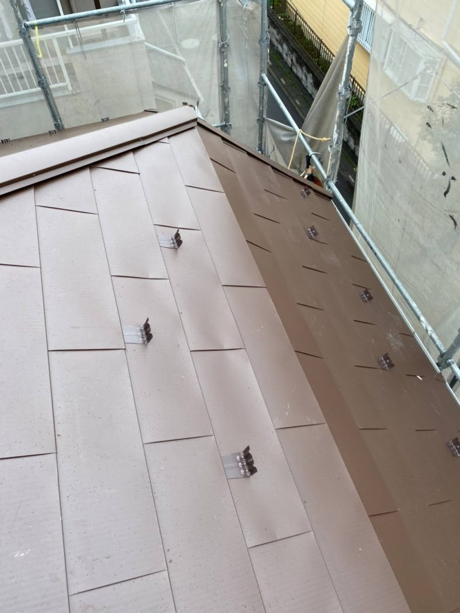 加須市屋根工事 施工完了3