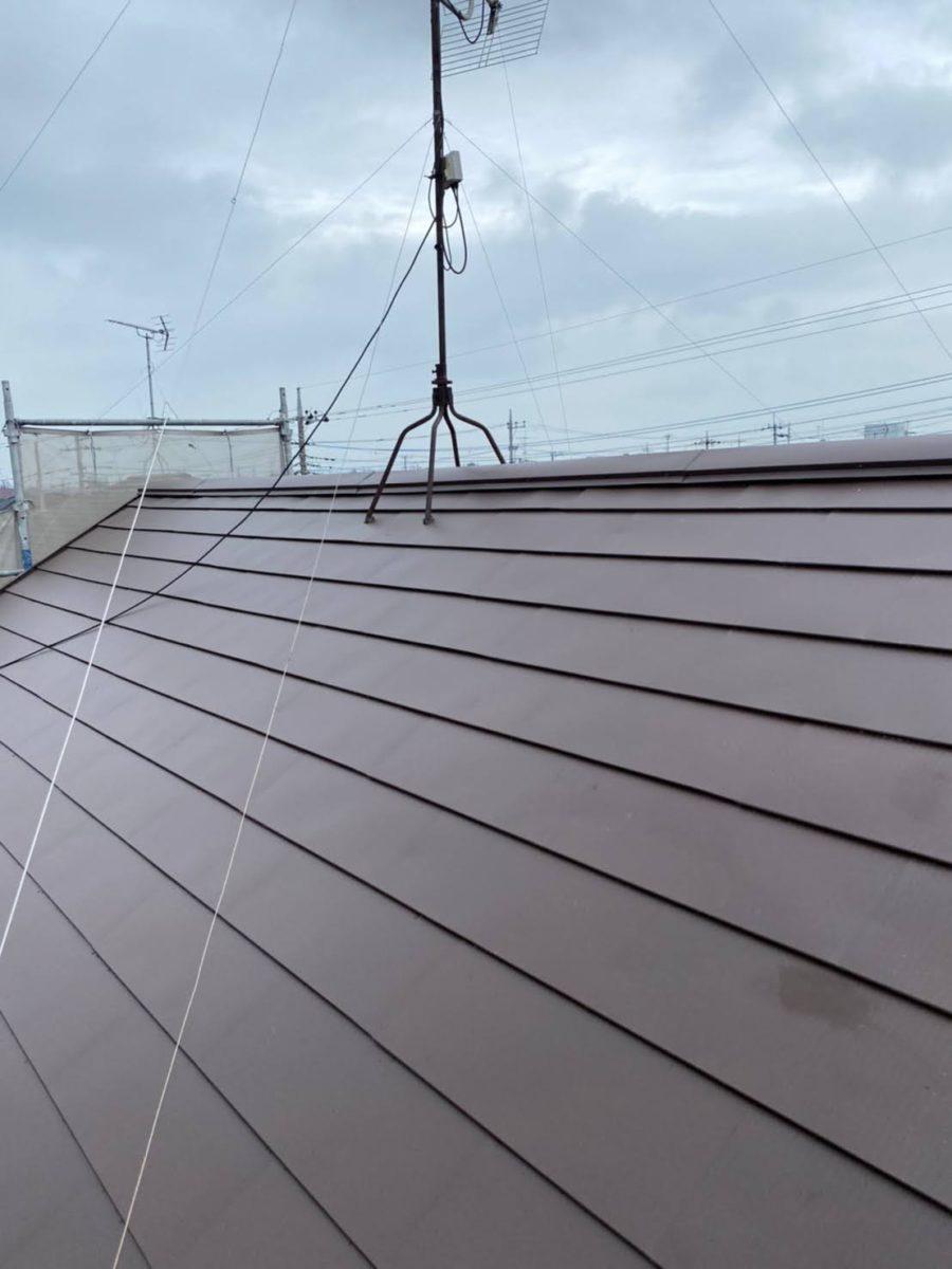 加須市屋根工事 施工完了4