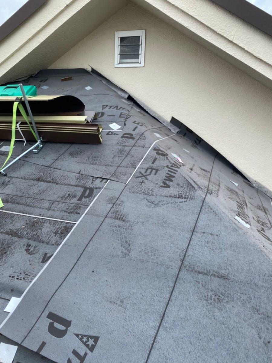 加須市屋根工事 ルーフィング