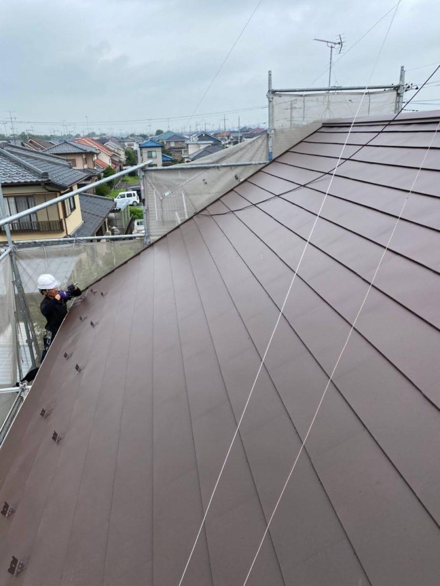 加須市屋根工事 施工完了5