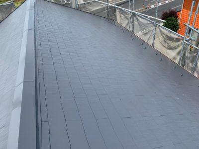 上尾市屋根外壁塗装 屋根塗装完了2