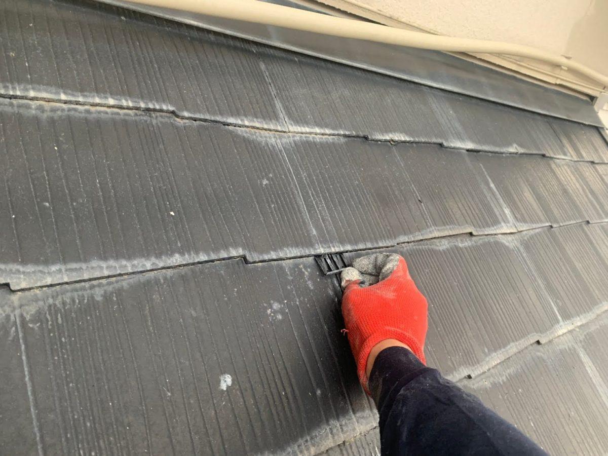 上尾市屋根外壁塗装 タスペーサー