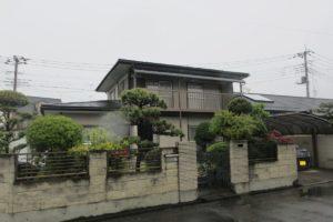 行田市屋根外壁塗装 施工前