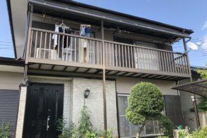 行田市屋根外壁塗装 施工後1