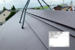 鴻巣市 屋根カバー工法 スーパーガルテクト設置