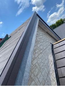久喜市 屋根カバー工法 スーパーガルテクト設置