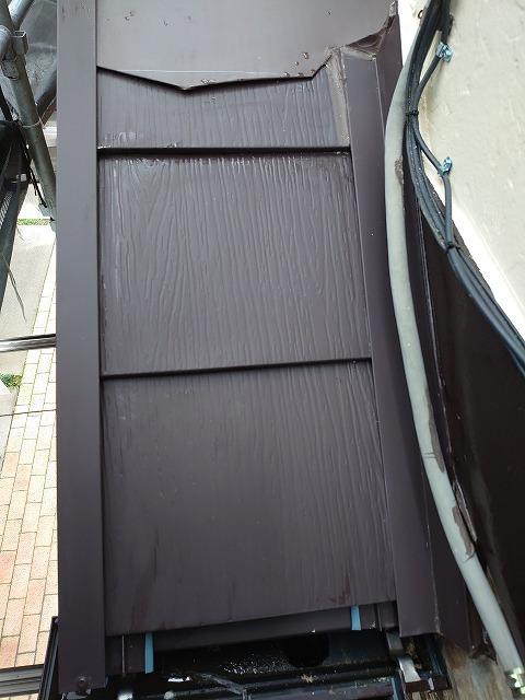 さいたま市桜区 屋根カバー工事 スーパーガルテクトフッ素設置