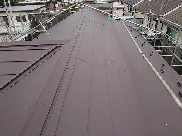 さいたま市桜区 屋根カバー工事完了